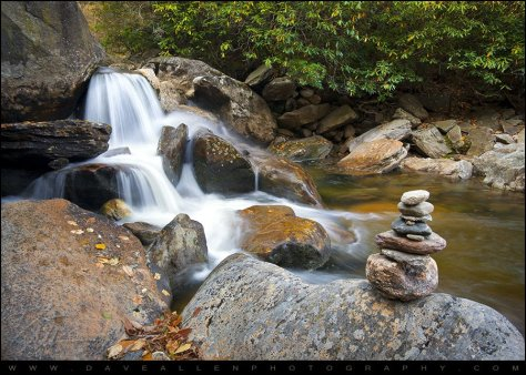 Life flows from above, down, inside, out, like this cool, clear mountain stream.